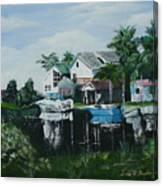 Hernando Beach Canvas Print