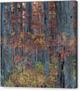Heron Pond Twilight Canvas Print