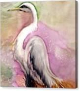 Heron Serenity Canvas Print