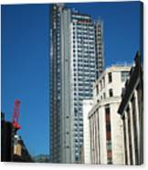 Heron Tower Canvas Print