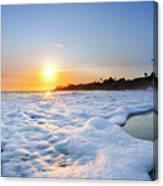 Hesler Sunset Canvas Print