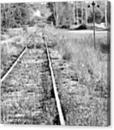Hespeler Tracks Canvas Print