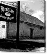 Hessian Powder Magazine Canvas Print