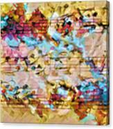 Heterophony Squared 2 Canvas Print