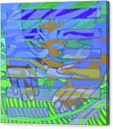 Hexagram 18-ku Canvas Print