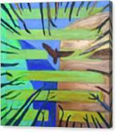 Hexagram-57-xun-penetrating-wind- Canvas Print