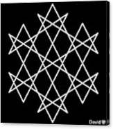 Hexagrammaton Canvas Print