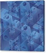 Hexentricity 1 Canvas Print