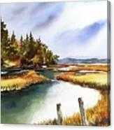 Heyer Pt   Vashon Wa Canvas Print