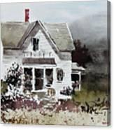 Heyl House, Minneapolis, Kansas Canvas Print