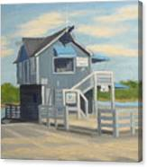 H.h. Boat House Canvas Print