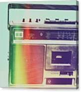 Hi-fi Pop Canvas Print