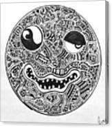 Hi, Smiley Canvas Print