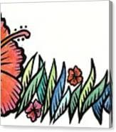 Hibiscus Guam 2009 Canvas Print