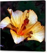 Hibiscus Heat Canvas Print