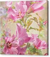 Hibiscus Impression Canvas Print