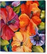 Hibiscus mini Canvas Print