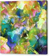 Hibiscus Trumpets Canvas Print