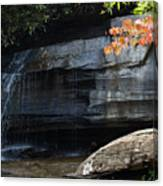 Hickory Nut Falls At Chimney Rock Nc Canvas Print