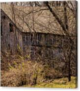 Hidden Barn Canvas Print