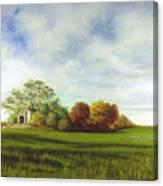 Hidden Barn Canvas Print