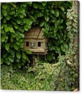 Hidden Birdhouse Canvas Print