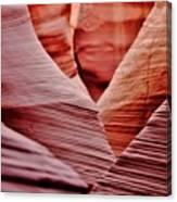 Hidden Canyon Angles. Canvas Print
