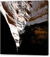 Hidden Canyon Canvas Print