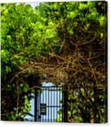 Hidden Gate Canvas Print