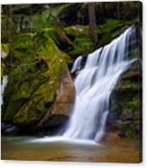 Hidden Hocking Hills Waterfall Ohio Canvas Print