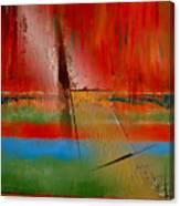 Hidden Inside The Lines Canvas Print