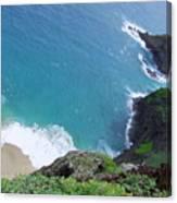 Hidden Kilauea Beach Canvas Print