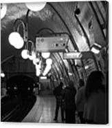 Paris Tube Station Cite - Hidden Kiss Canvas Print
