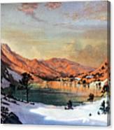 Hidden Lake Western United States Canvas Print
