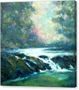 Hidden Oasis Canvas Print
