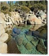 Hidden Shores Canvas Print