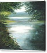 Hidden View Canvas Print