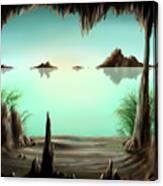 Hidout Canvas Print