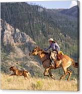 High Country Ride Canvas Print
