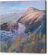 High Country Weather Canvas Print
