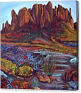 High Desert Spring Canvas Print