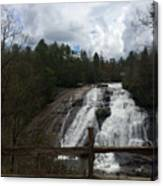 High Falls Dupont State Forest Canvas Print