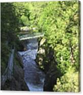 High Falls Gorge Canvas Print