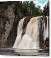 High Falls Of Tettegouche State Park 1 Canvas Print