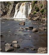 High Falls Of Tettegouche State Park 3 Canvas Print
