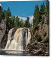 High Falls Of Tettegouche State Park 4 Canvas Print