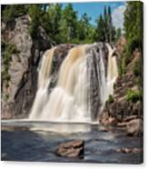 High Falls Of Tettegouche State Park2 Canvas Print