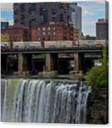 High Falls, Rochester  Canvas Print
