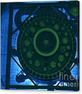 High Flux Isotope Reactor Pool Canvas Print