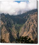 High In The Andes Canvas Print